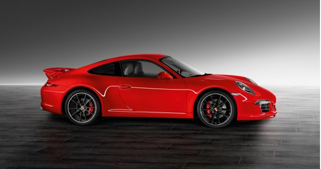 2013 Porsche 911 Carrera S equipped with Porsche Exclusive Aerokit