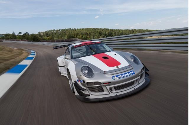 2013 Porsche 911 GT3 R race car