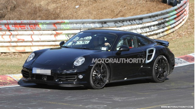 2014 Porsche 911 Turbo spy shots