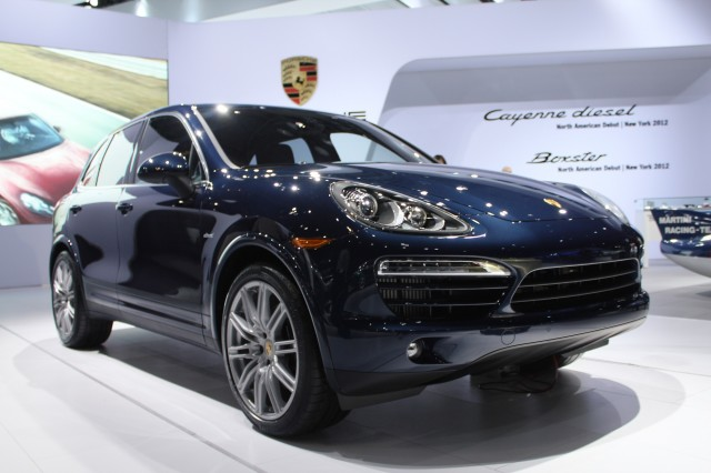 Porsche drops diesel in electric car push