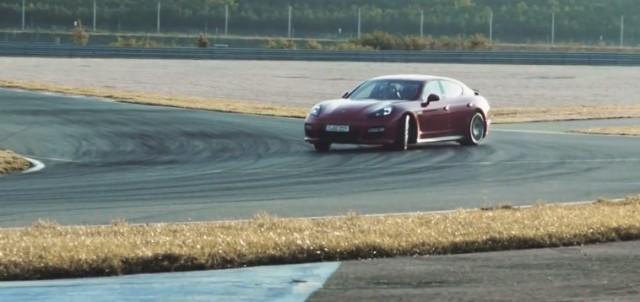 2013 Porsche Panamera GTS in action