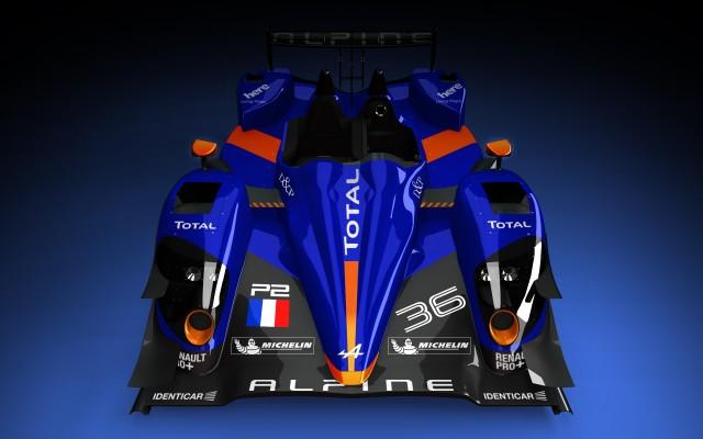 2013 Renault N°36 Alpine Le Mans prototype