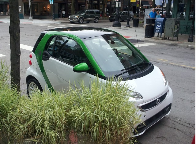 2013 Smart Electric Drive Coupe, Ann Arbor, Michigan, Aug 2013