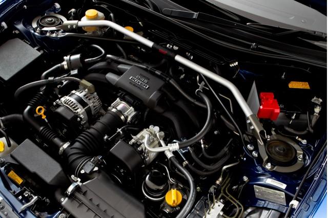 2013 Subaru BRZ fitted with STI upgrades