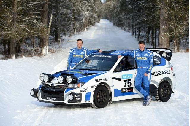 2013 Subaru Rally Team USA WRX STI rally car