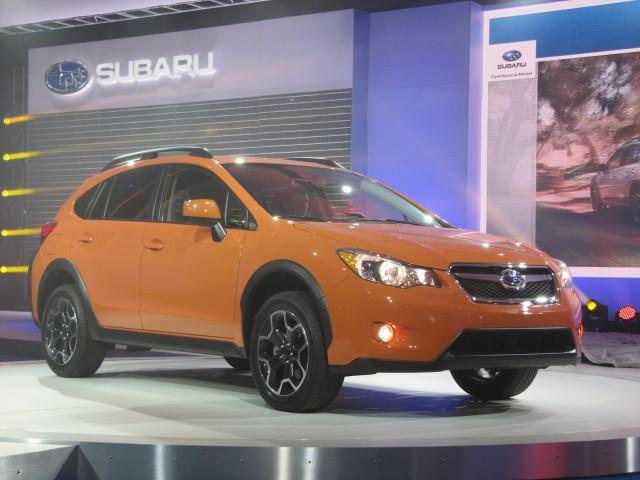 2013 Subaru XV Crosstrek, New York Auto Show, April 2012