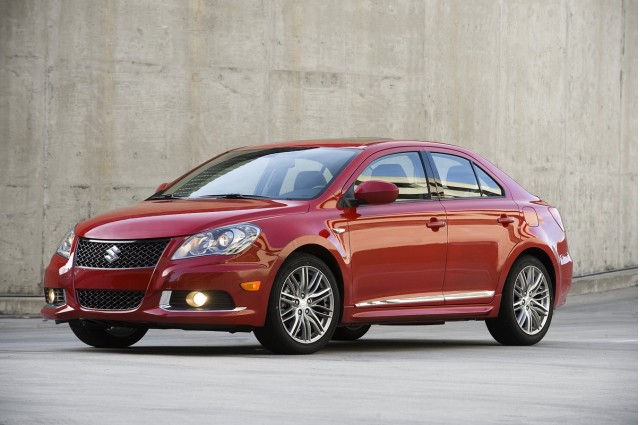 Suzuki Kizashi recalled over fuel tank that may potentially crack