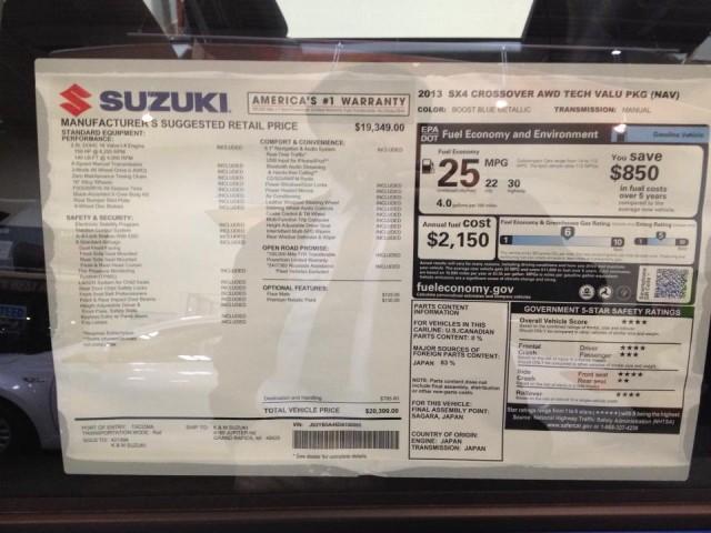 Suzuki bankruptcy deals