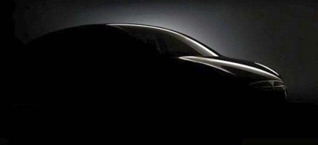 2013 Tesla Model X crossover teaser