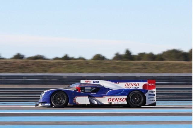 2013 Toyota TS030 Hybrid Le Mans prototype