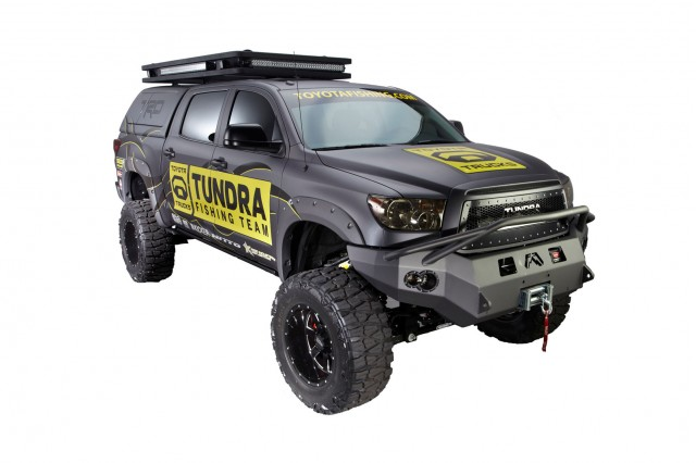 2013 Toyota Tundra by Pro Bass Anglers, 2012 SEMA show