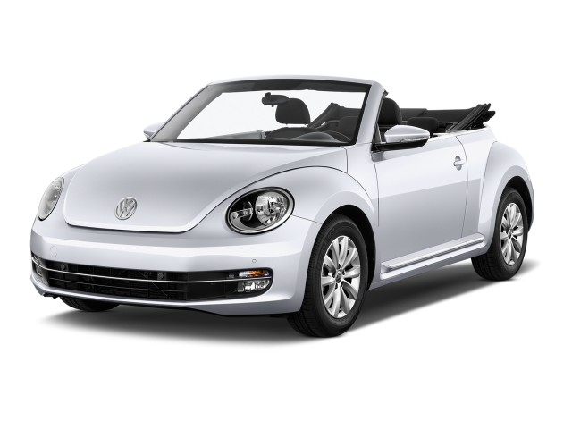 2013 Volkswagen Beetle Convertible 2-door Auto 2.5L Angular Front Exterior View