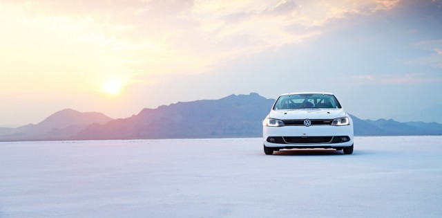 2013 Volkswagen Jetta Hybrid land speed record car