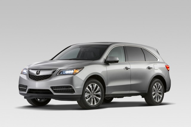 Acura MDX Review Ratings Specs Prices And Photos The - Acura mdx review 2014
