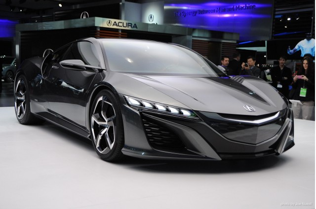 Honda Releases Concept Model Data For 3D Printing Including New Acura NSX