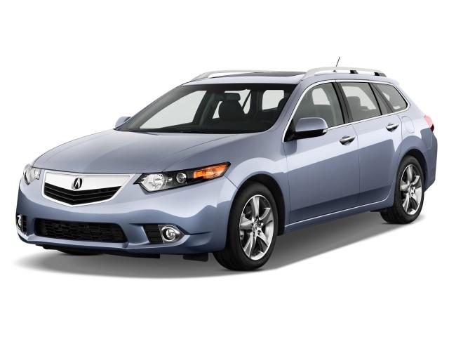 2014 Acura TSX 5dr Sport Wagon I4 Auto Tech Pkg Angular Front Exterior View