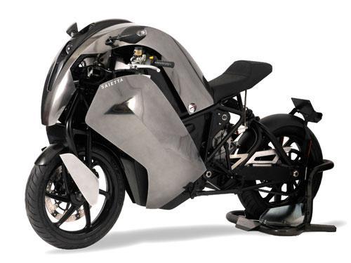 2014 Agility Saietta electric motorcycle