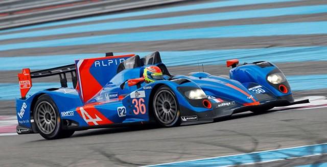 2014 Alpine A450 Le Mans prototype