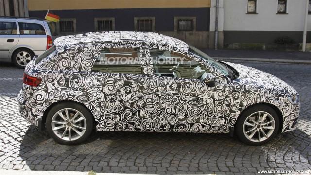 2014 Audi A3 Sportback spy shots