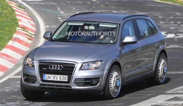 2014 Audi Q6 test-mule spy shots