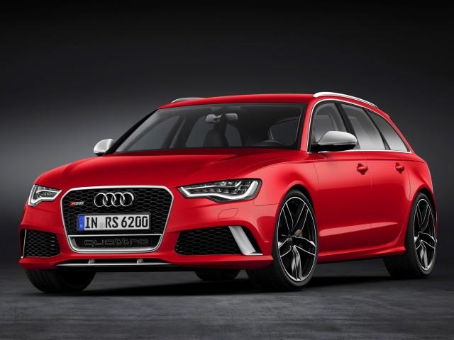 2014 Audi RS 6 Avant leaked images
