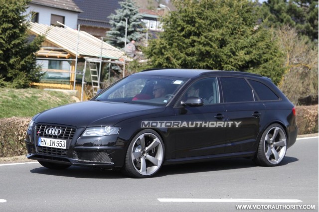 2014 Audi RS4 Avant mule spy shots