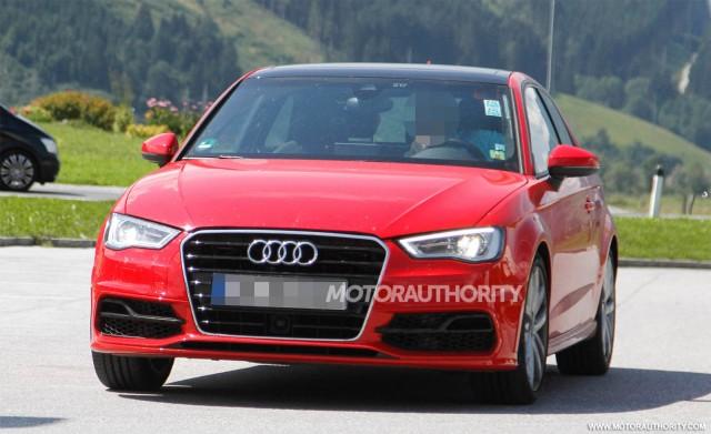2014 Audi S3 Hatchback spy shots