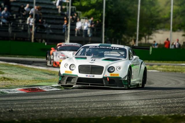 2014 Bentley Continental GT race car of Team M-Sport Bentley