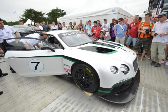 2014 Bentley Continental GT3 race car