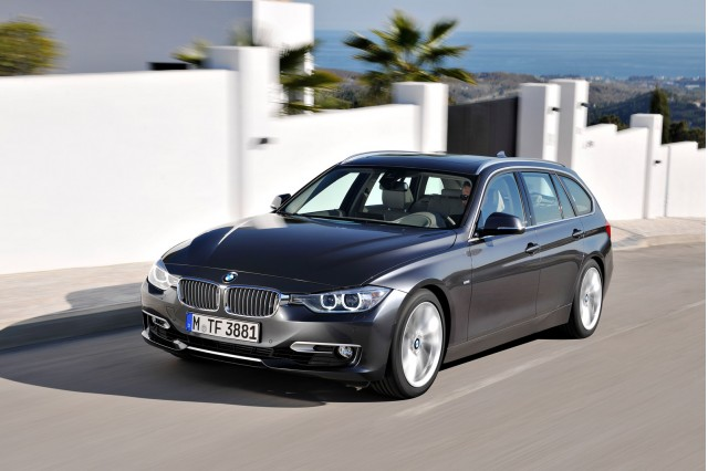 2014 BMW 3-Series Sports Wagon (European spec)
