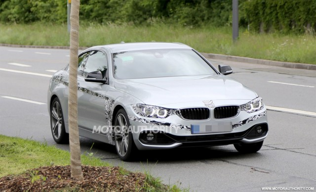 2014 BMW 4-Series Coupe spy shots