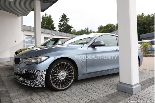 2014 BMW Alpina B4 Biturbo spy shots