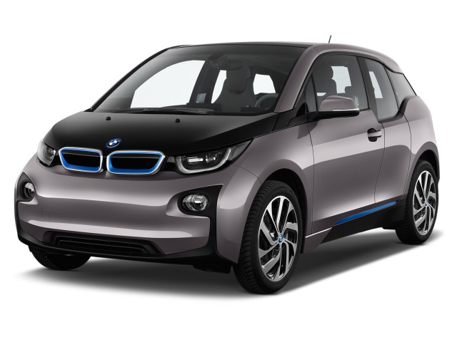 2014 BMW i3 4-door HB Angular Front Exterior View