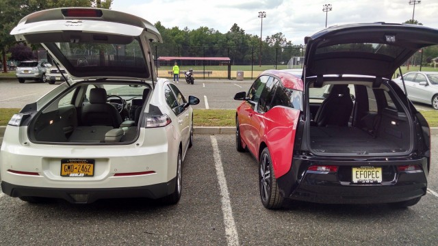 2014 BMW I3 REx Vs Chevrolet Volt Comparison Photos David Noland Tom Moloughney
