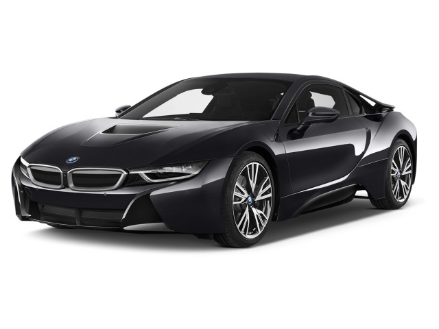 2014 BMW i8 2-door Coupe Angular Front Exterior View