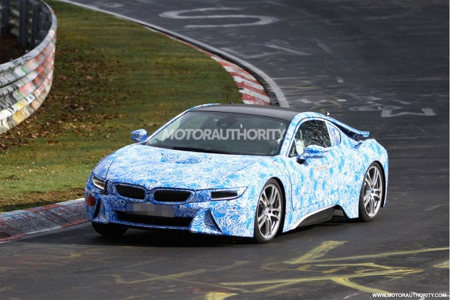 2014 BMW i8 spy shots