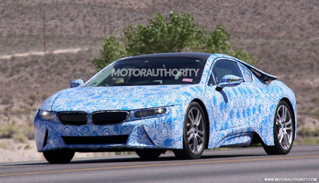 2014 Bmw I8 Spy Shots With Interior Gallery 1 The Car Connection