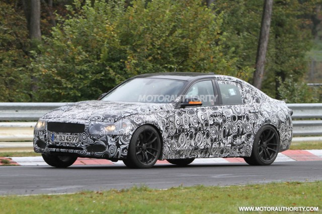 2014 BMW M3 Sedan spy shots