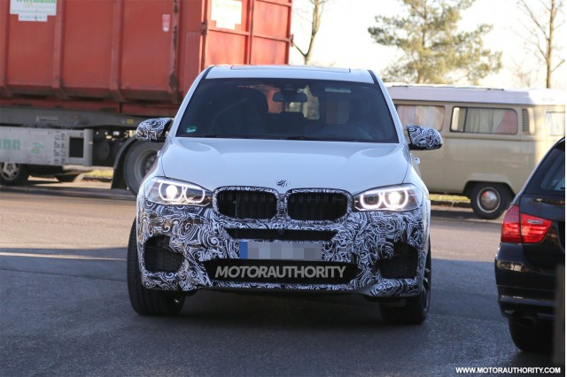 2015 BMW X5 M spy shots