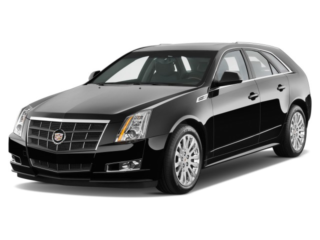 2014 Cadillac CTS 5dr Wagon 3.6L Premium RWD Angular Front Exterior View
