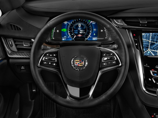 2014 Cadillac ELR 2-door Coupe Steering Wheel