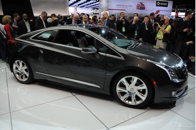 January 15, 2013 - Detroit, MI. 2014 Cadillac ELR revealed at the 2013 Detroit Auto Show. Photo by Joe Nuxoll.