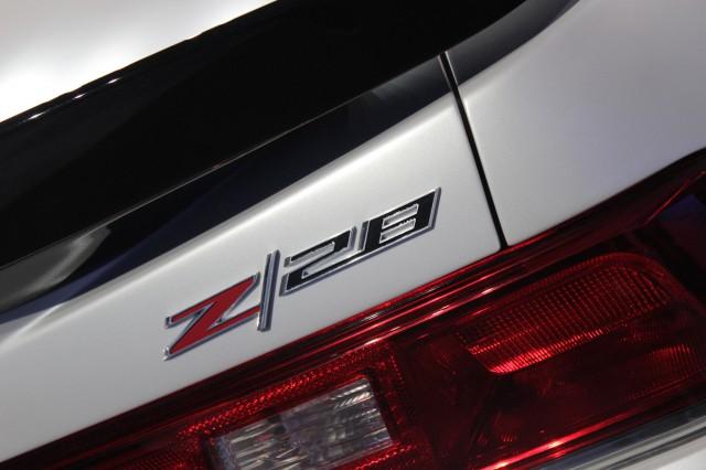 2014 Chevrolet Camaro Z/28, 2013 New York Auto Show