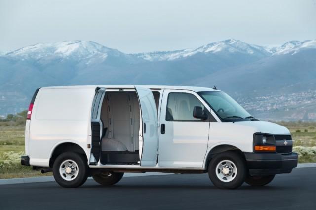 2017 Chevrolet Express 2500 Cargo Van
