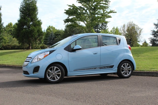 2014 Chevrolet Spark EV  -  First Drive, Portland, July 2013