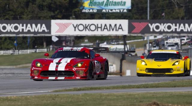 2014 Dodge Viper SRT GTS-R at the Petit Le Mans at Road Atlanta