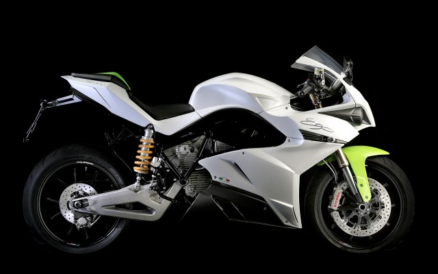 2014 Energica Ego electric motorcycle