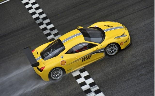 2014 Ferrari 458 Challenge Evoluzione race car