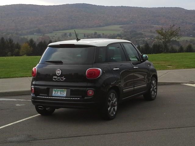 2014 Fiat 500L Gas Mileage Test Of New Tall Wagon