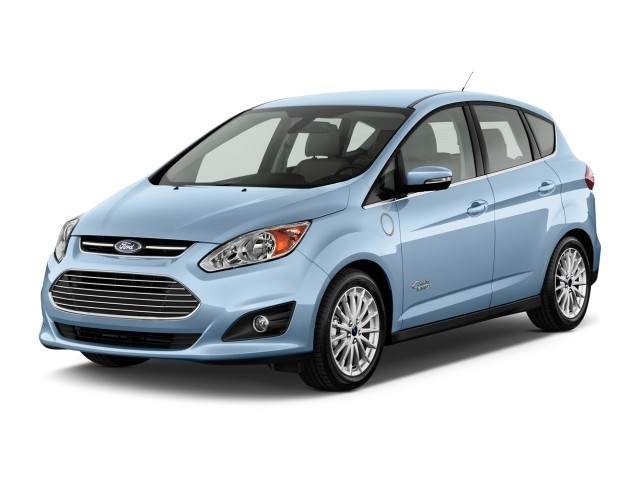 2014 Ford C-Max Energi 5dr HB SEL Angular Front Exterior View